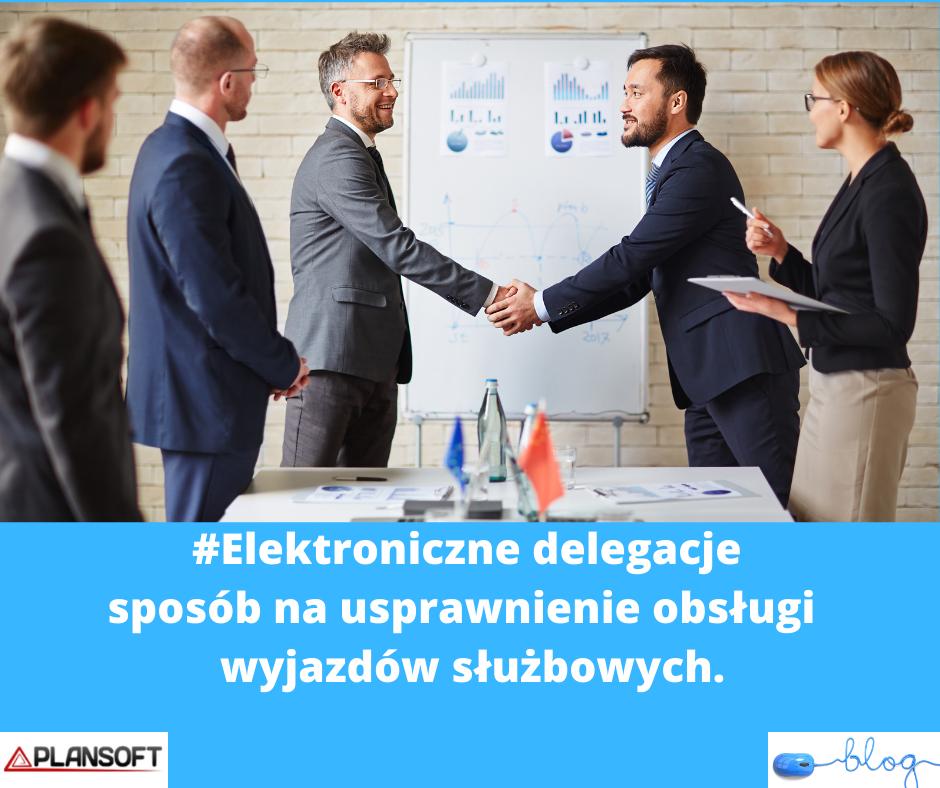 elektroniczne delegacje