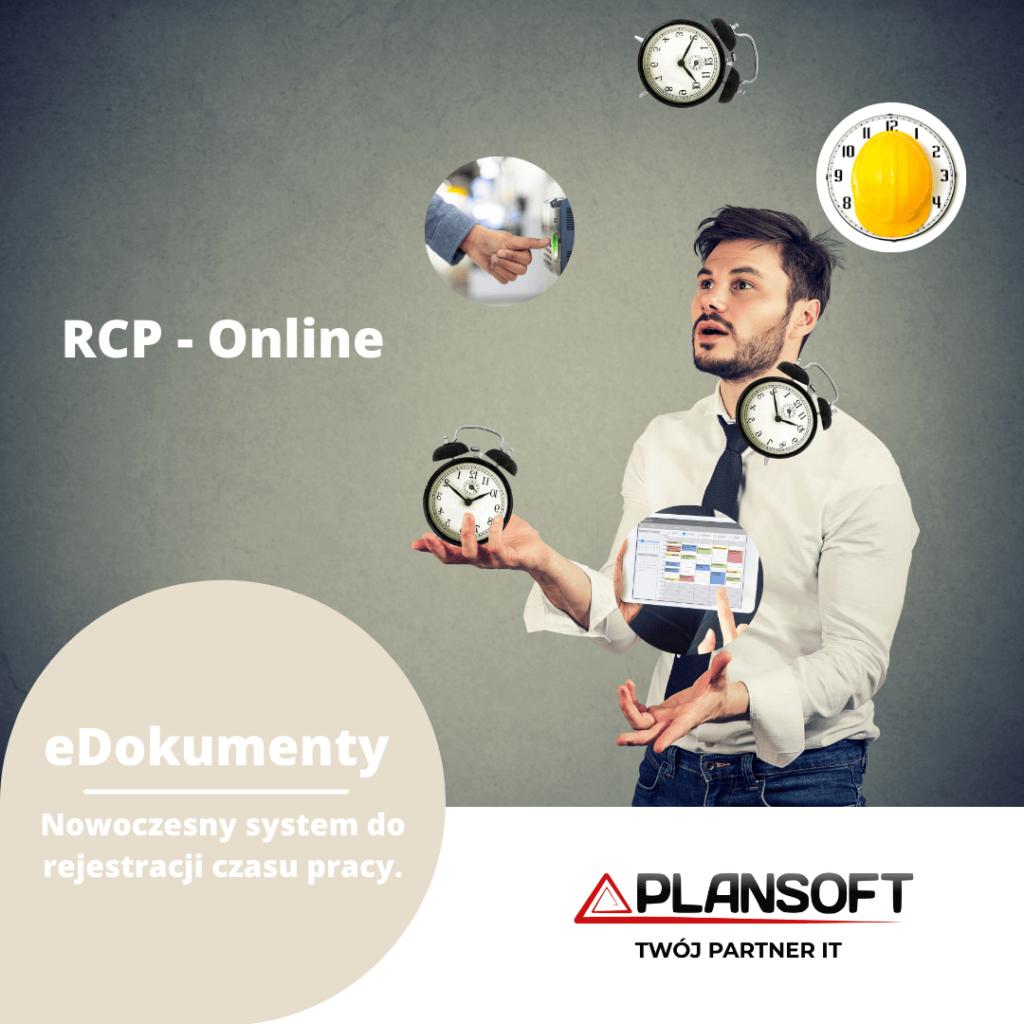 RCP rejestracja czasu pracy w systemie edokumenty