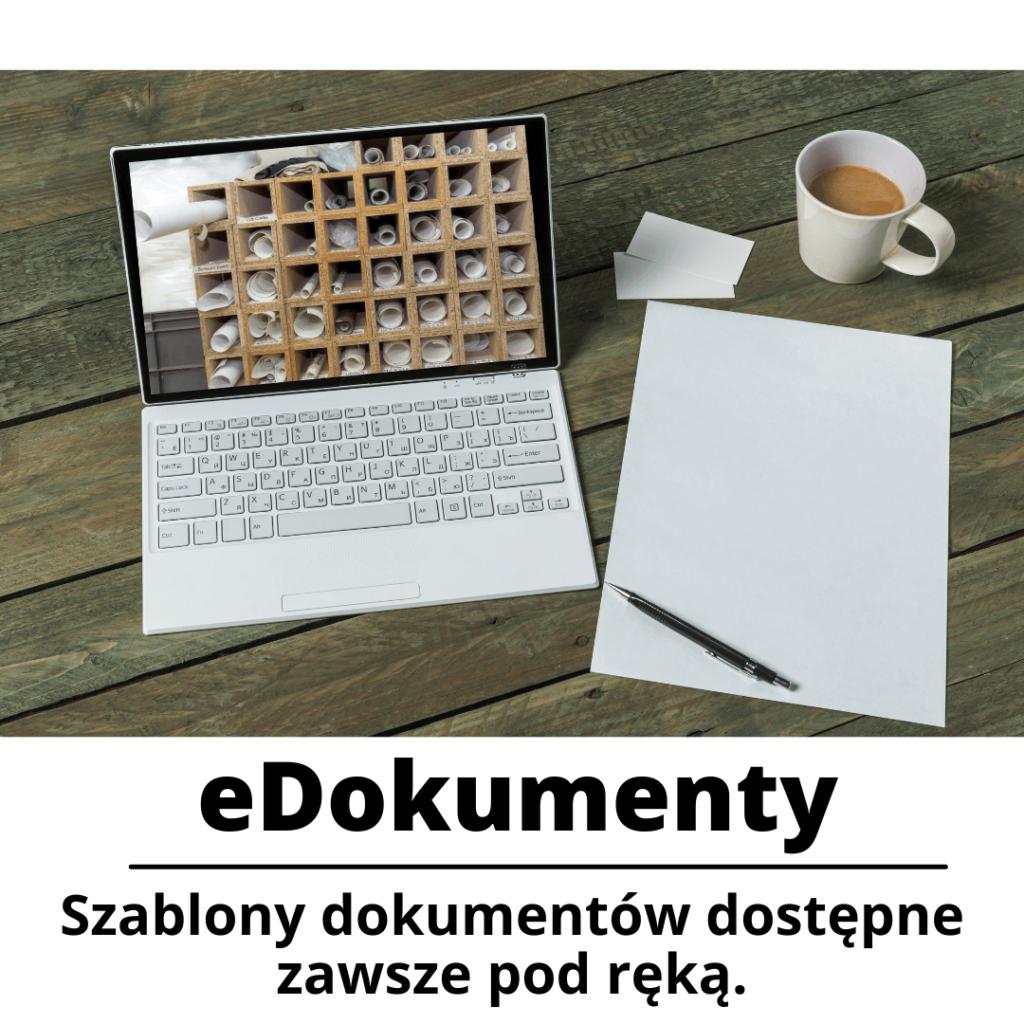 szablony edokumentow dostepne on-line